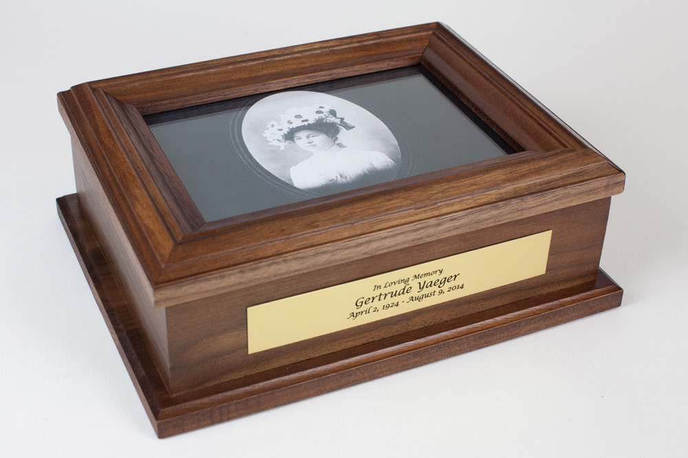 Custom Memorial Keepsake Box