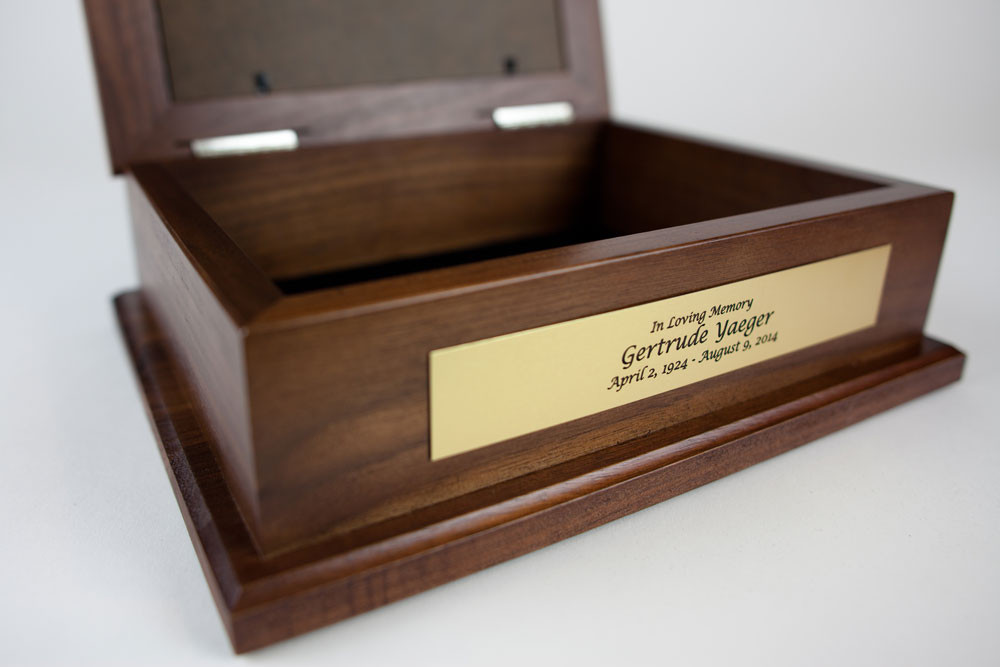 An elegant keepsake box for treasured mementos