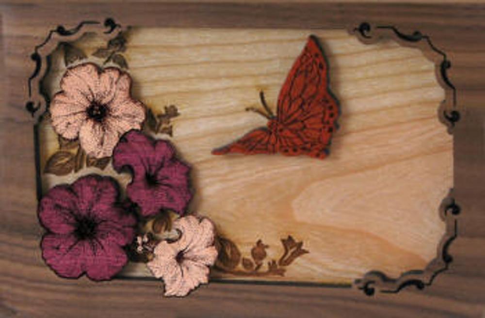 Companion Urn Scene: Butterfly