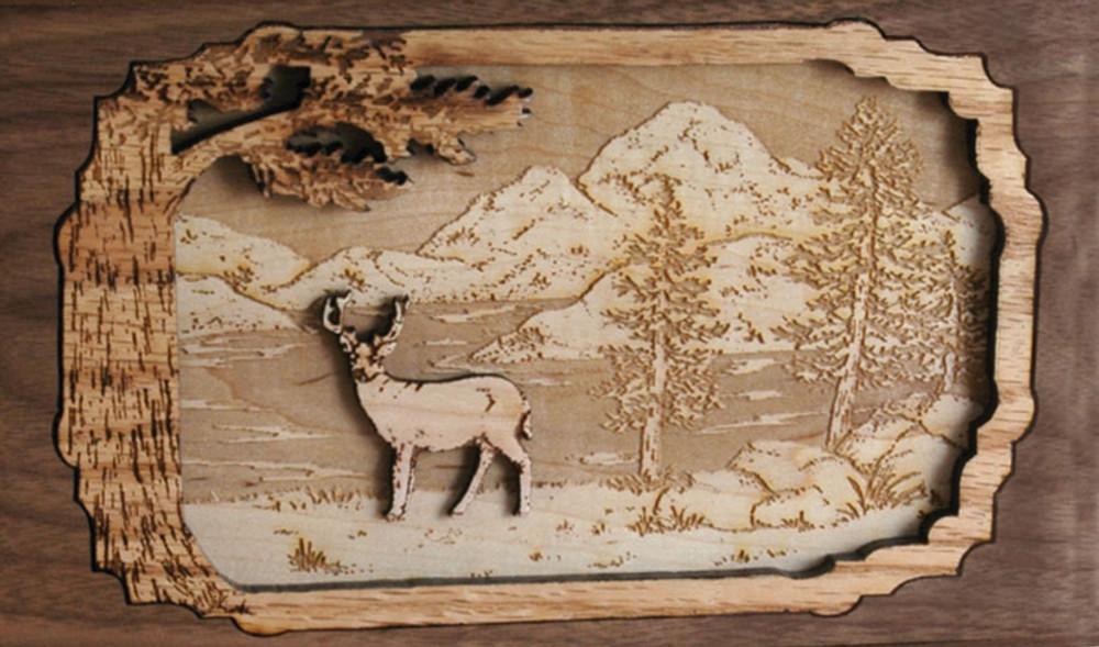 Companion Urn Scene: Elk