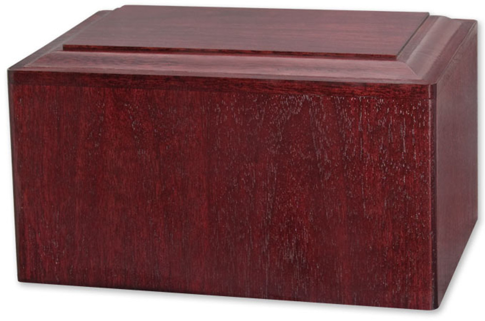 Marquis Cremation Urn - Rosewood finish