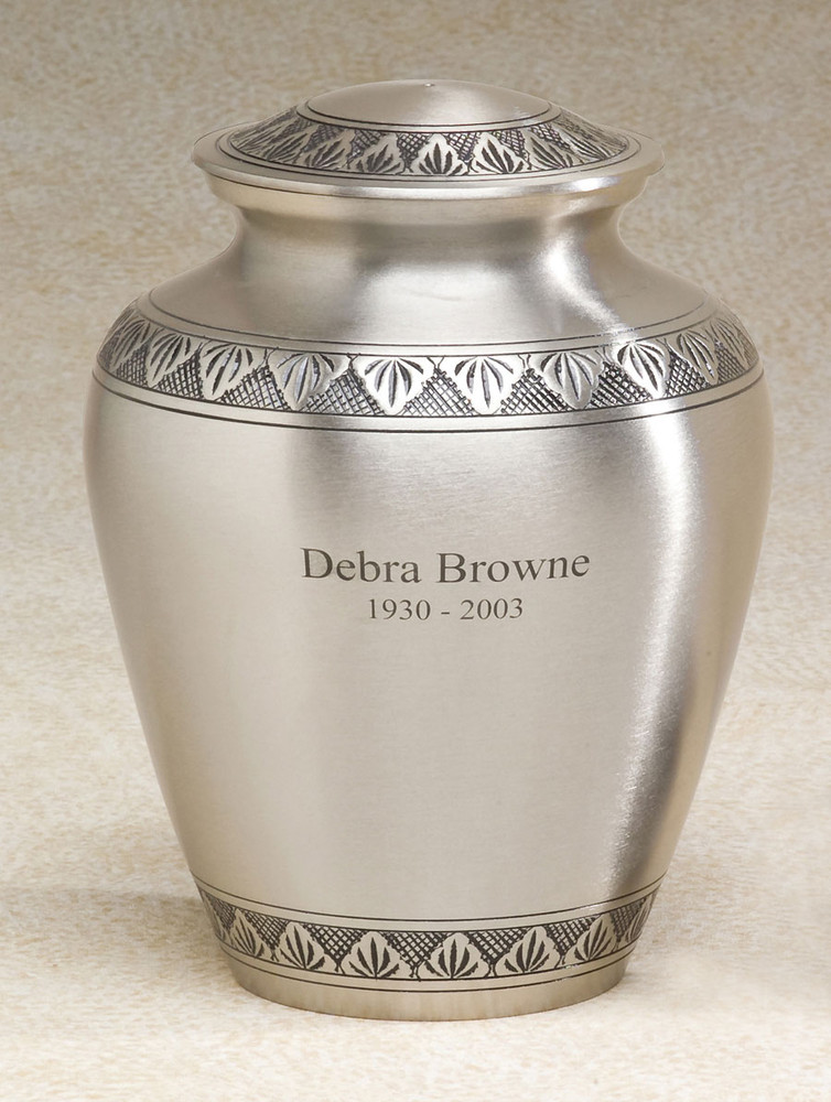 Brass Cremation Urn - Avalon Urn for Ashes
