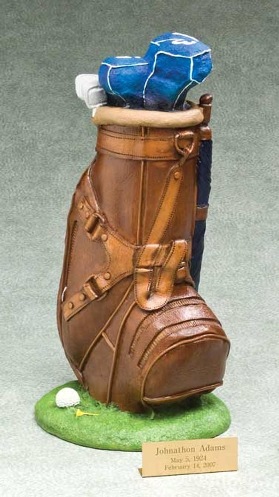 Golf Urn   Golfer Urn   Golf Bag Urn