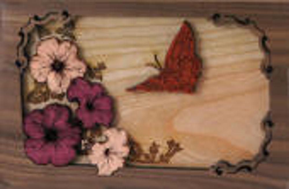 Butterfly Urn Scene