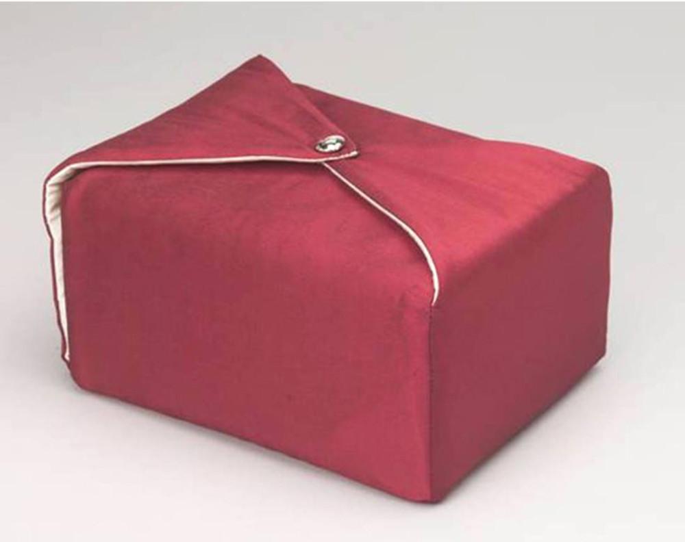 Silk Fabric Cremation Urn in Maroon | Silk Urns