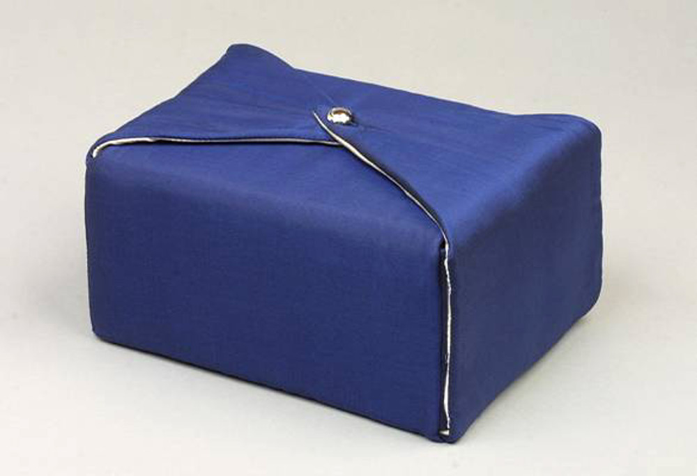Fabric Funeral Urns | Dark Blue