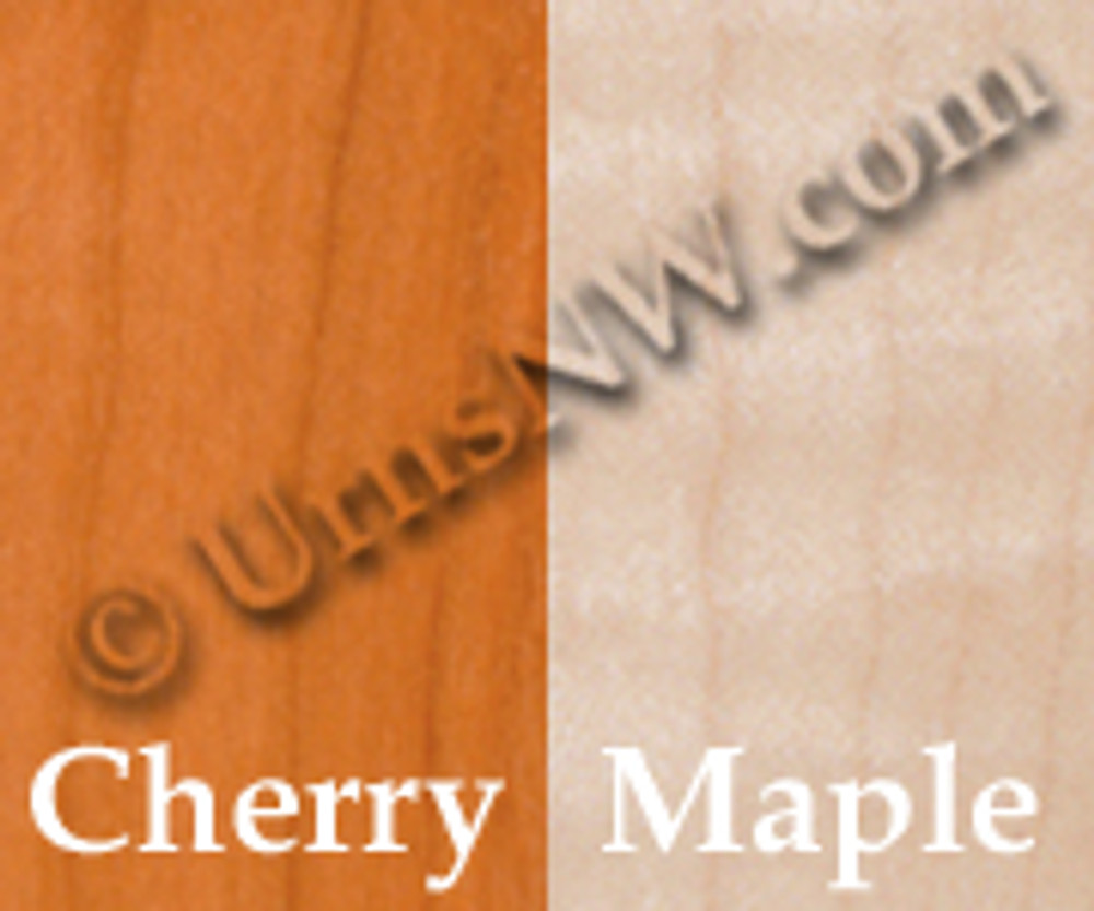 Wood Urn Options: Cherry, Maple