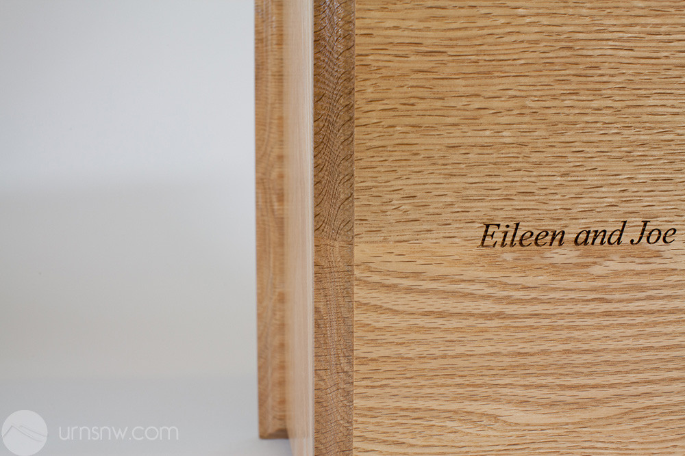 Laser engraved inscription is available
