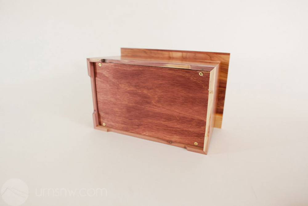 Base: Removeable bottom panel, attaches with screws