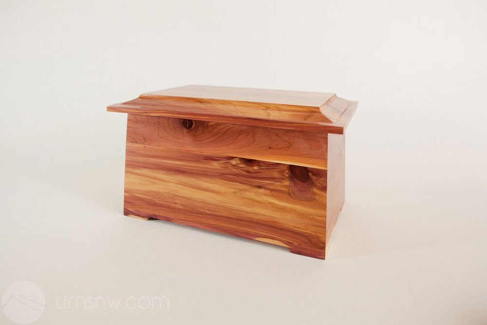 Cedar Wood Cremation Urn