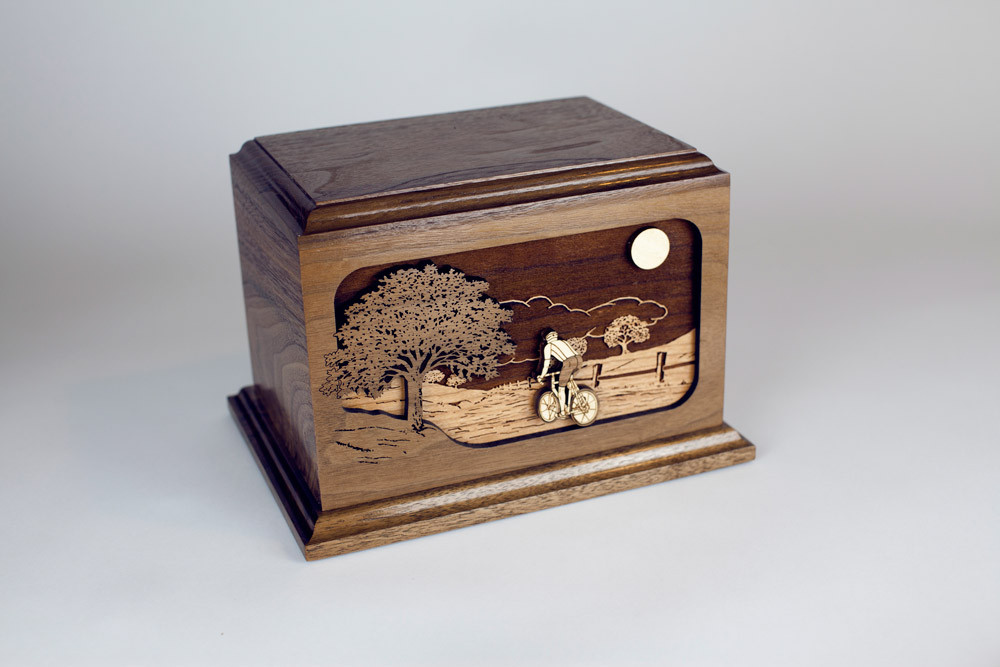 Bicycle Urn: Made in the USA
