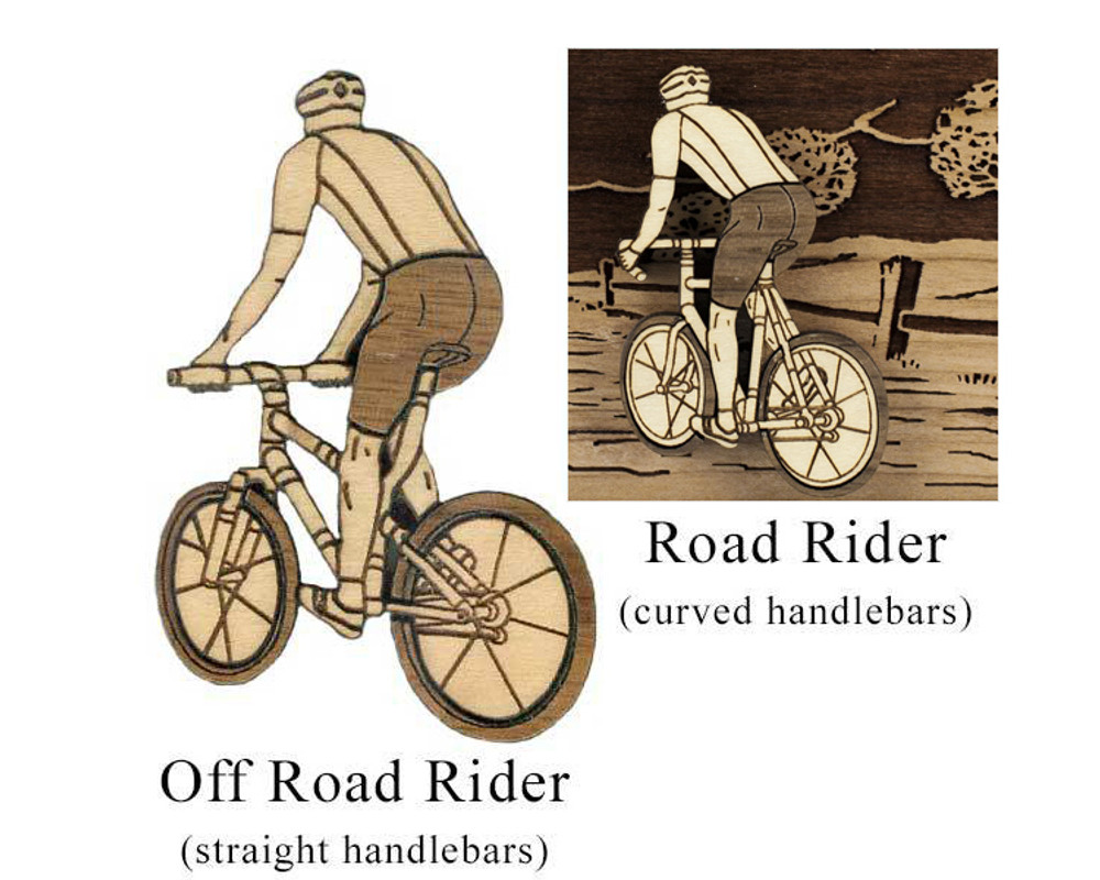 Cyclist: Off Road Rider or Road Rider