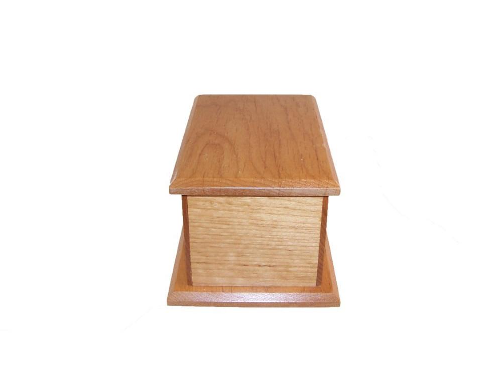 Alder Wood Infant Urn