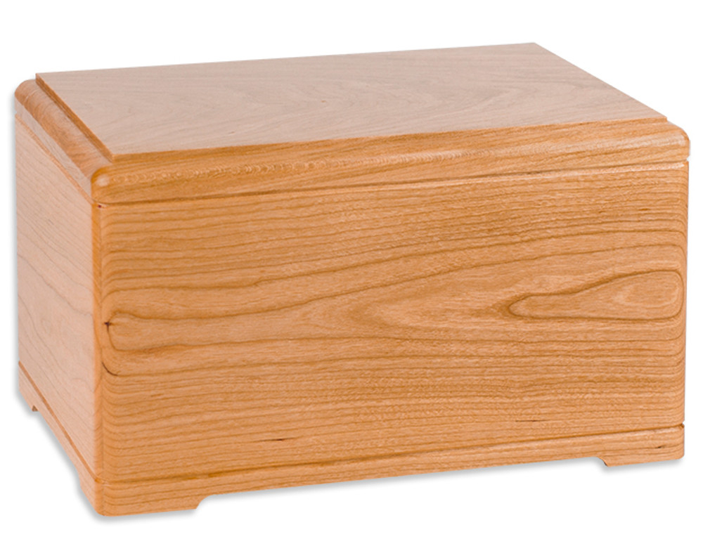 Hamilton Cremation Urn - Natural Cherry