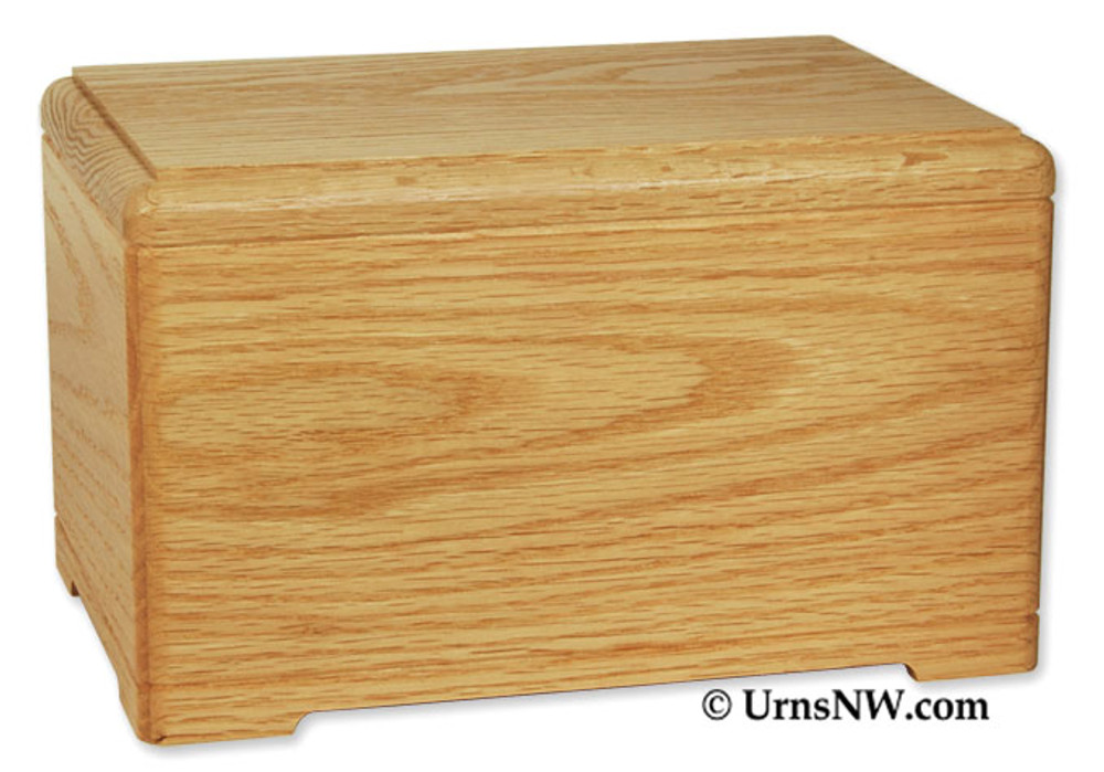Hamilton Cremation Urn - Oak