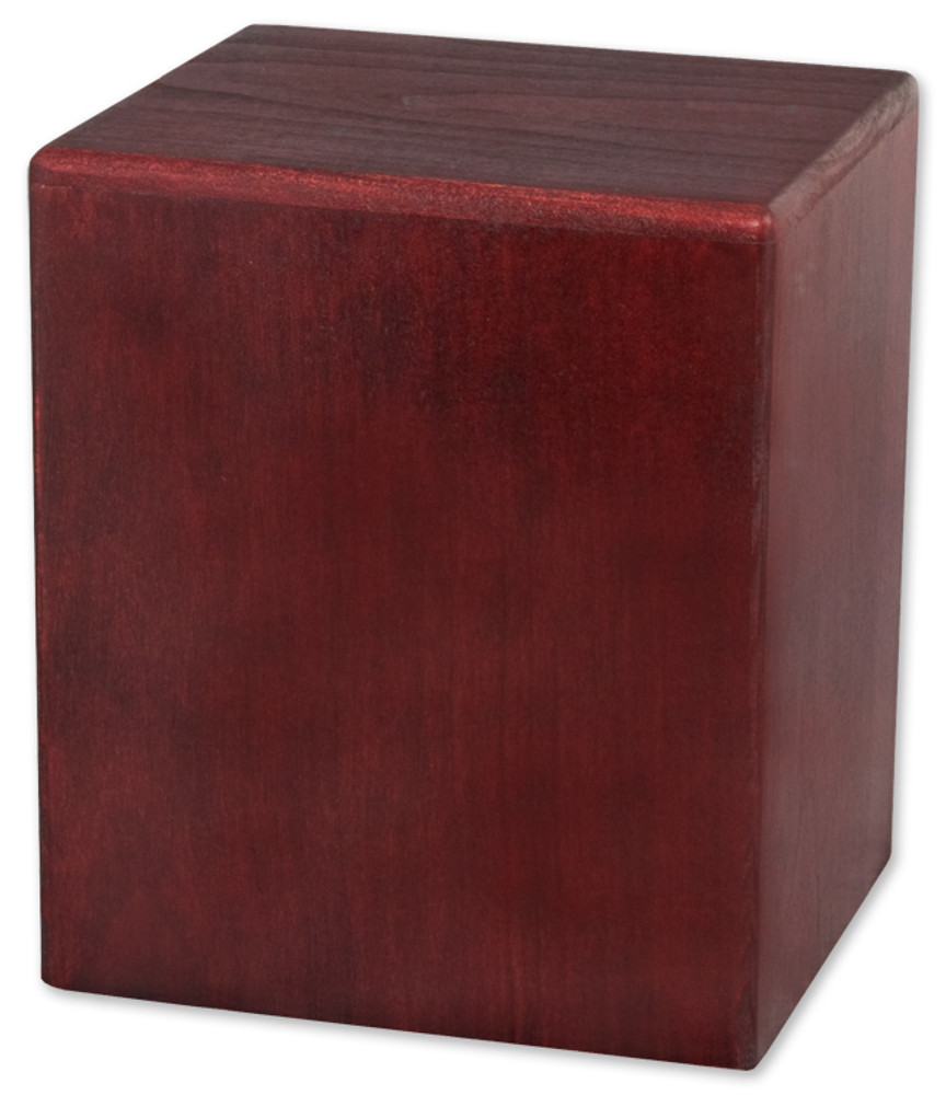 Cube Budget Urn | Rosewood
