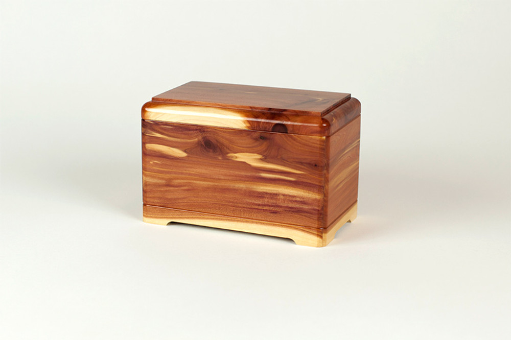 Cedar Wood Premium Pet Cremation Urn Made in the USA