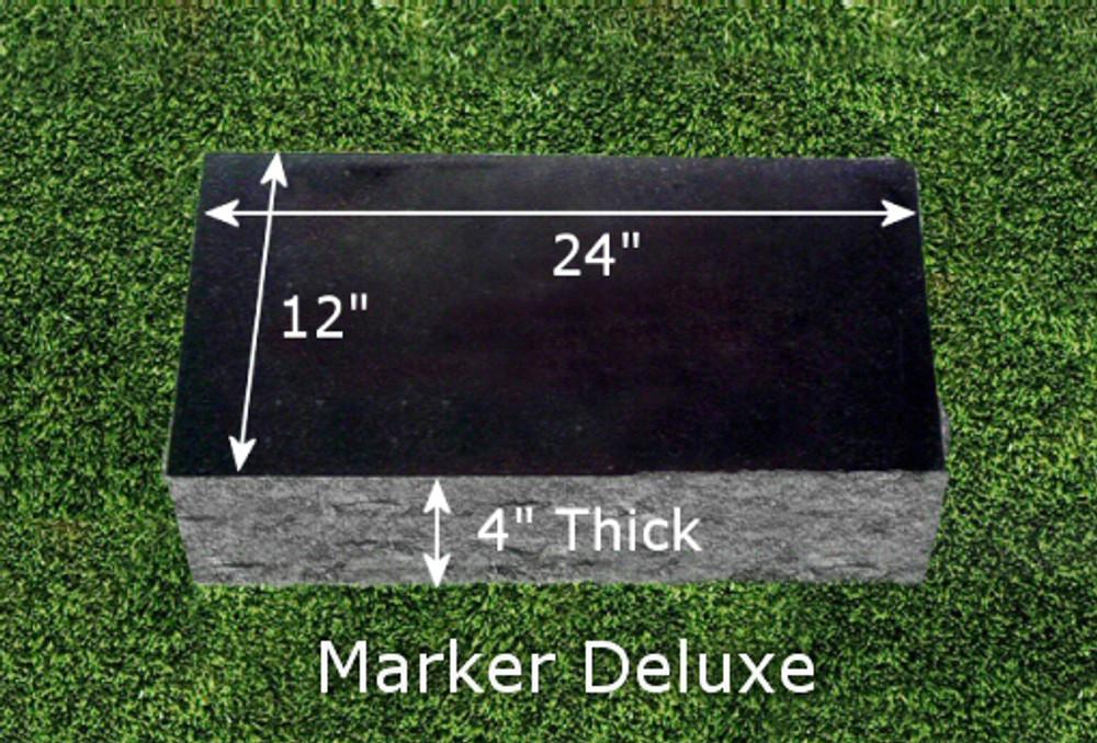 Granite Grave Marker - Double