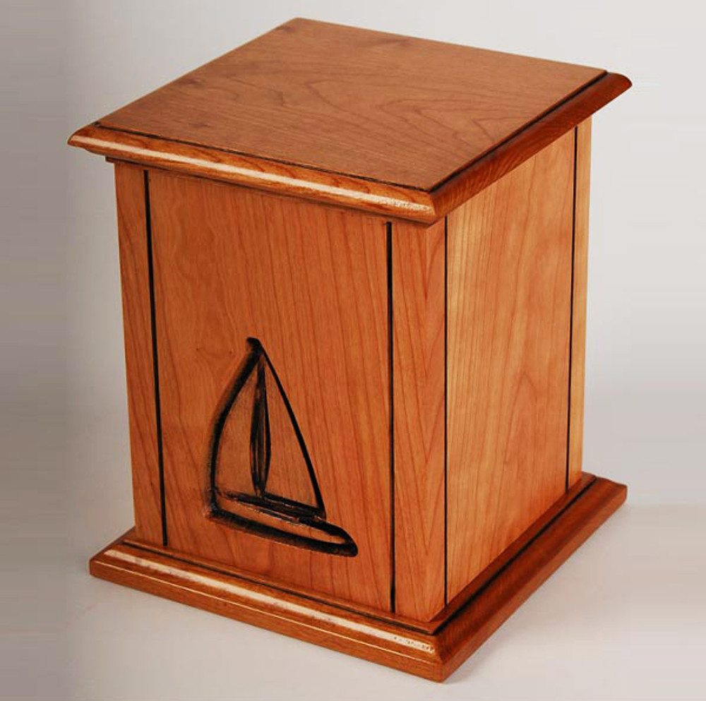 Sailboat Cremation Urn