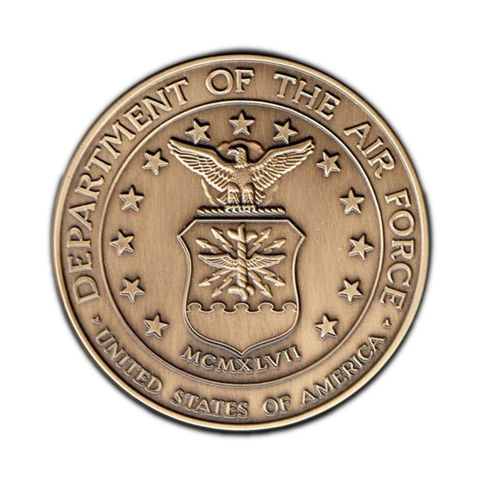 Air Force Military Cremation Urn Medallion