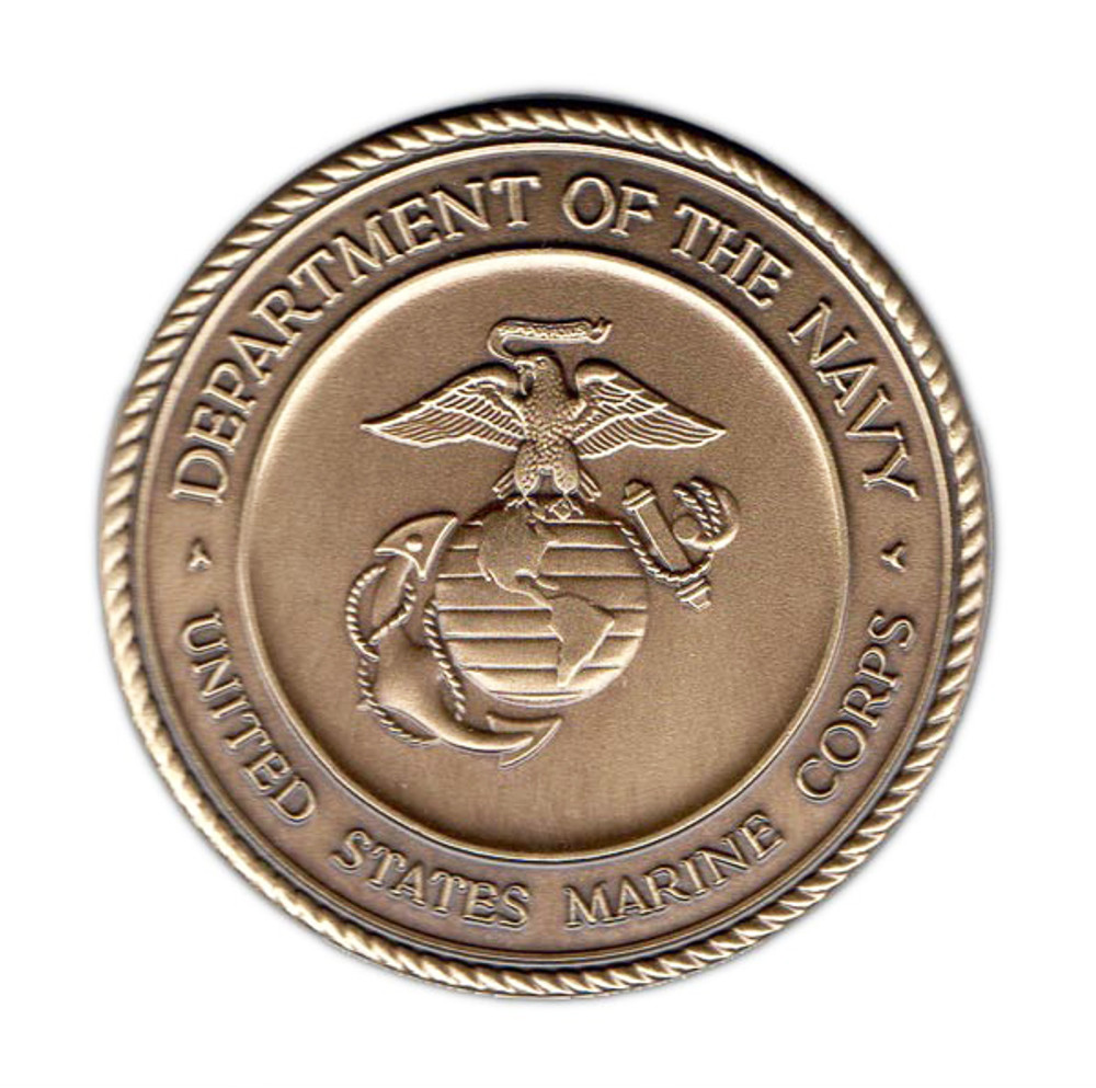 Military Cremation Urn Medallion - Marine Corps
