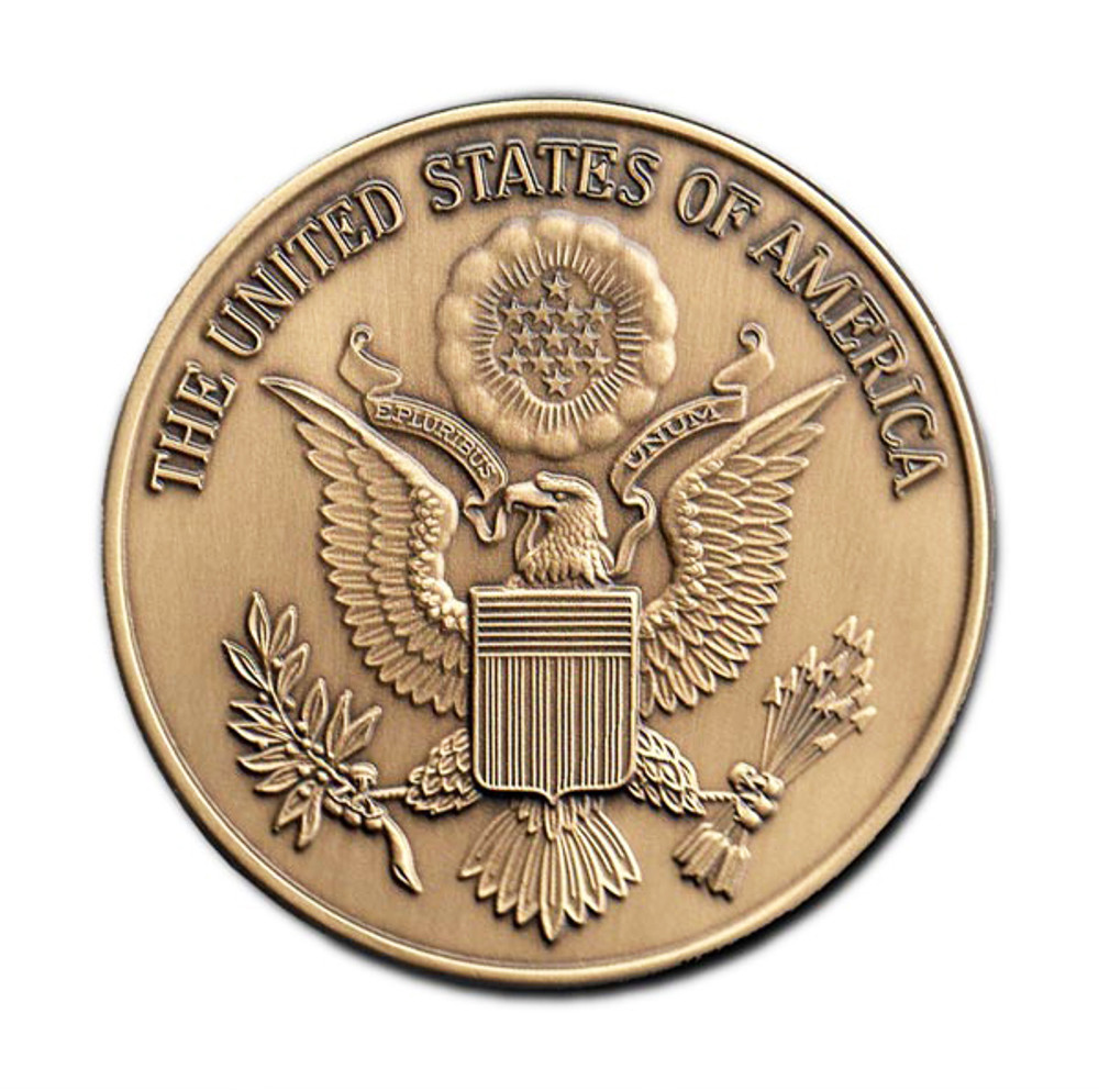 Military Cremation Urn Medallion - Great Seal