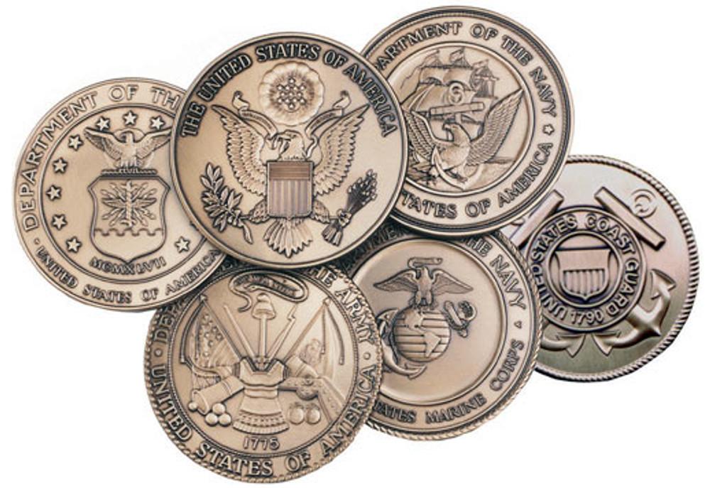 Choice of military medallion