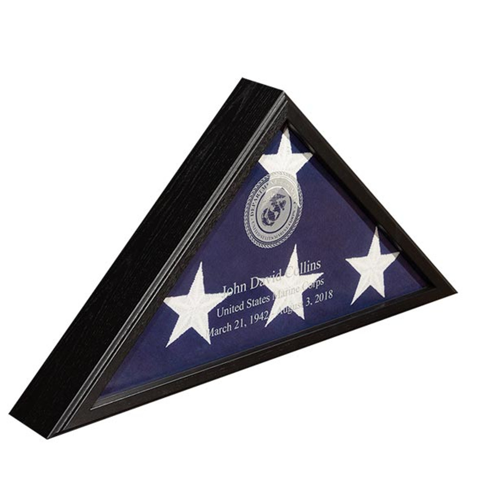 Veteran Burial Flag Case - Black (NEW)