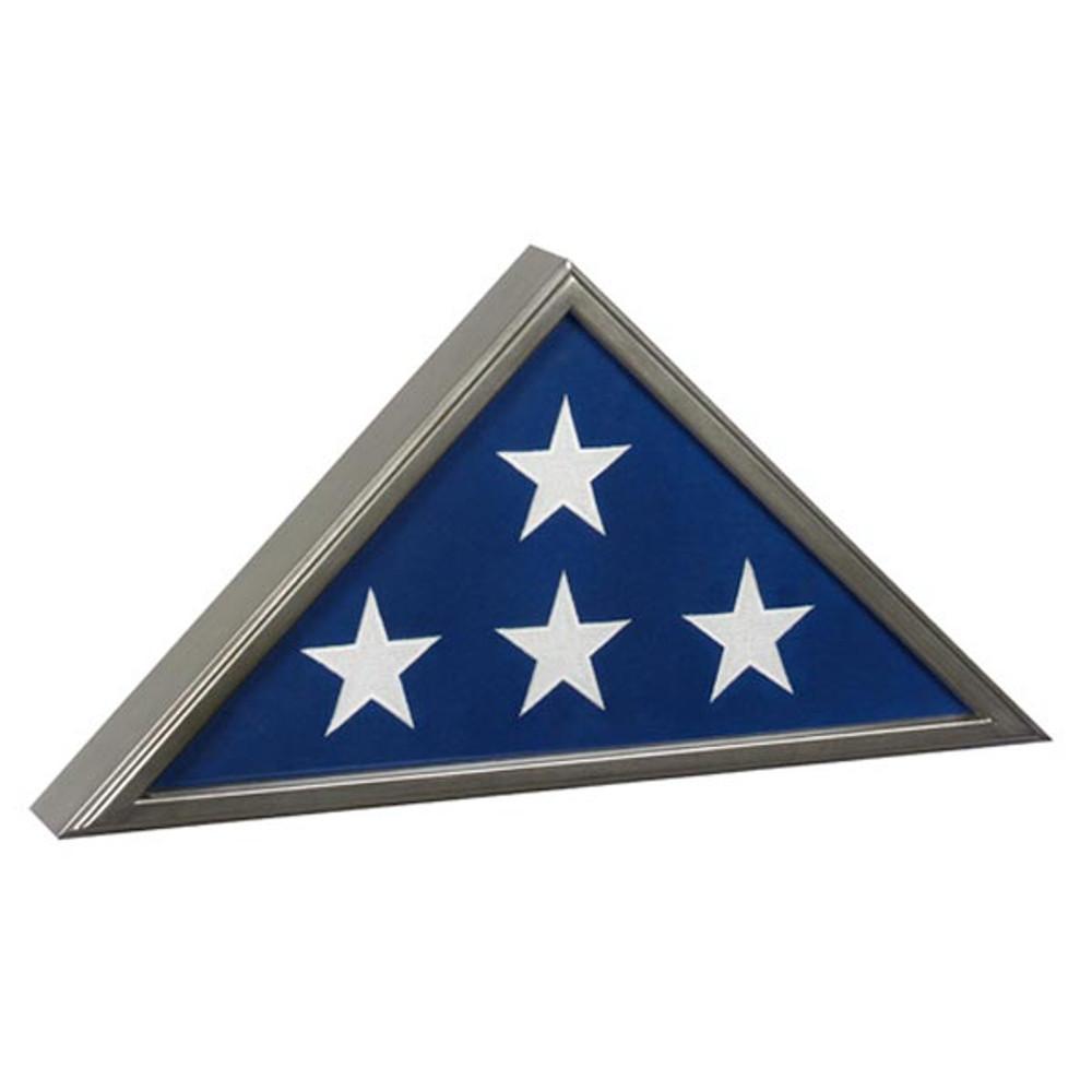 Veteran Burial Flag Case - Gunmetal