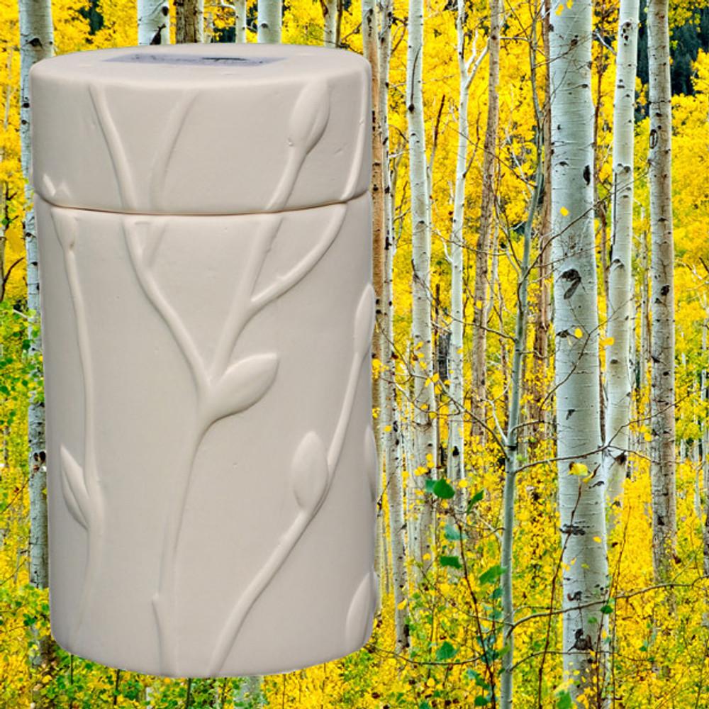 Quaking Aspen Memorial Tree Urn