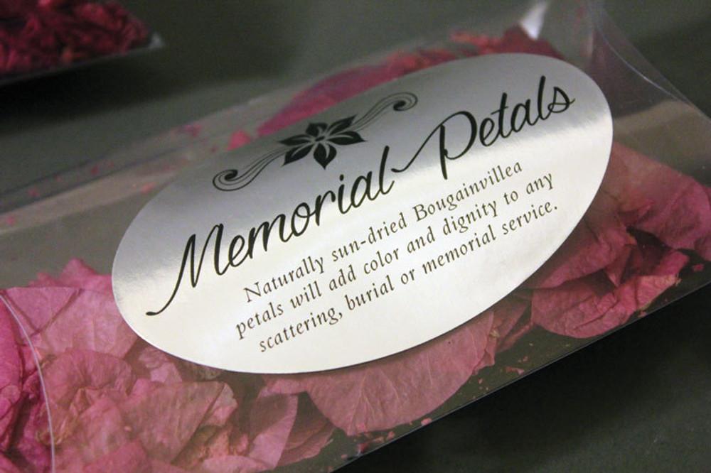 Optional Memorial Petals