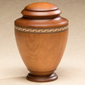 Gallantry Wood Cremation Urn