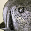 Bass Fish Urn - Detail