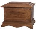 Cambridge Walnut Wood Cremation Urn