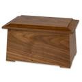 Sonata Wooden Cremation Urn - walnut