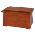 Sonata Wooden Cremation Urn - Stained Cherry