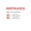 Inscription Layout #2