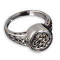 Sterling Silver Celtic Cremation Ring