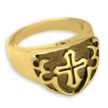 Memorial Jewelry for Men in 14k Gold Plated Silver