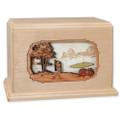 Golf Companion Urn - Maple Wood