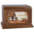 Golf Companion Urn - Walnut Wood