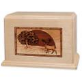 Heartland Deer Wood Companion Urn - Maple