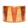 Elegant wooden inlay patterns using real solid wood