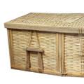 Bamboo Casket Detail: Head