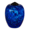 Classic Hand Blown Glass Urn - Water
