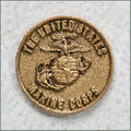Marines Military Urn Medallion