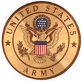 Army - Cremation Urn Medallion