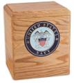 Freedom Military Urn in Oak Wood