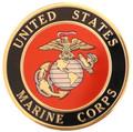 Urn Medallion: Marines