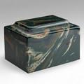 Classic Cultured Marble Urn in Camo